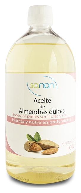 SANON Sweet Almond Oil 1000 ml Image