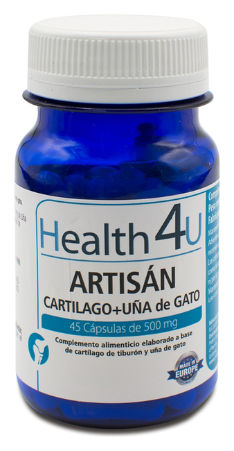 H4U Artisan Cartilage + Cats Claw 500 mg 45 capsules Image